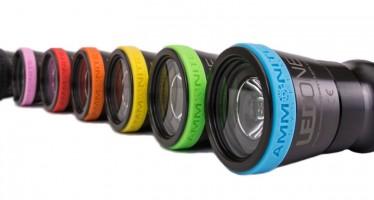 MKII – Farbenfrohe Tauchlampen von Ammonite System jetzt erhältlich