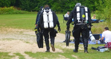 Dive-Event am Baggersee Diez mit Rebreather- und Tech-Tauchen