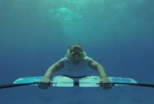 """Fotostrecke – Mit dem """"Subwing"""" wie ein Delfin durchs Wasser tauchen"""