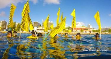 Malediven – Taucher protestieren für Freiheit von Ex-Präsident
