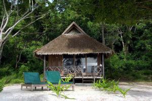 Selayar Dive Resort, landestypische Bungalows. (Foto: Veranstalter)