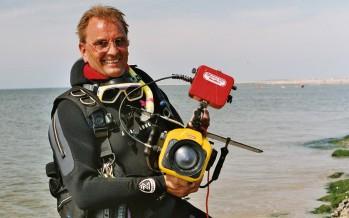 """Paul Mai war der Kameramann beim Filmprojekt """"Abenteuer Nordsee"""""""