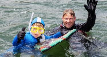 Von Luzern nach Sins – 21 Kilometer schwimmend durch die Schweiz