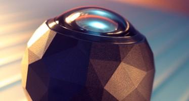 Action-Kamera 360 fly setzt beim Filmen auf extreme Weitwinkel-Optik