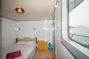 An Bord: Blick in eine Kabine. (Foto: Veranstalter)
