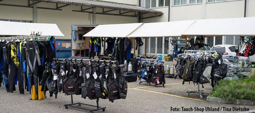 Taucher-Flohmarkt in der Ostschweiz wird im November fortgesetzt