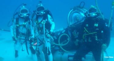 NASA trainiert im Atlantischen Ozean für Weltraum-Missionen