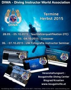 Das offizielle Poster zur Veranstaltung. (Quelle: DIWA)