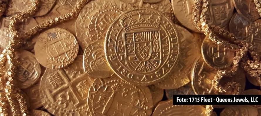 Kostbarer Fund – Taucher birgt Goldschatz vor der Küste von Florida