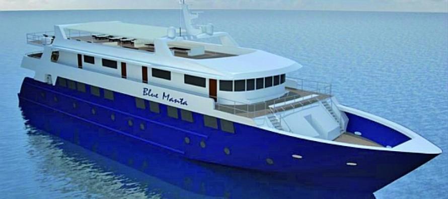 Blue Manta – neues Safarischiff bei Aqua Active
