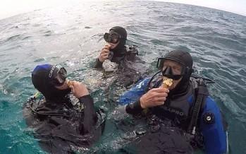 Eistauchen in Ägypten