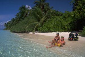 Traumhaftes Ambiente: Die Malediven