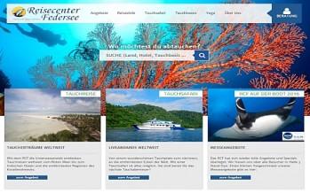 Reisecenter Federsee  Neuer Onlineauftritt