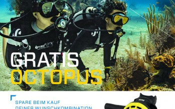 Clever sparen bei der Octopus-for-free Aktion