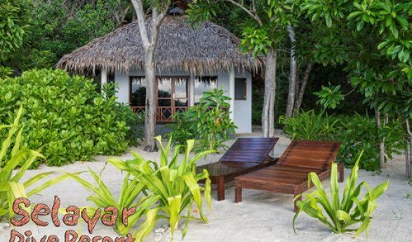 Zwei neue Strandvillen im Selayar Dive Resort