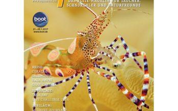 +++ Aquanaut Ausgabe 1/2017+++Queensland+++Curacao+++Salomonen+++