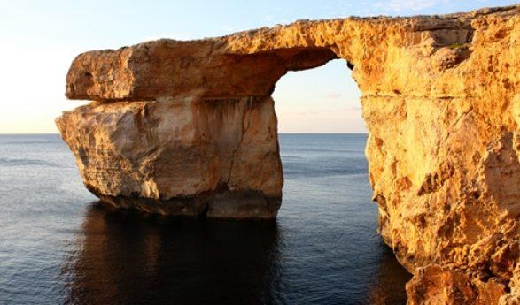 Azur Window auf Gozo ist eingestürzt