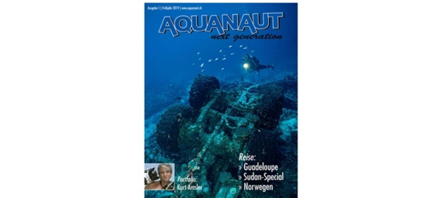 AQUANAUT next generation:  GUADELOUPE – SUDAN – NORWEGEN