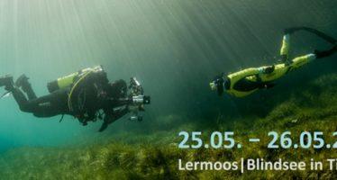 Unterwasserfotoworkshop mit Harald Slauschek Ende Mai 2019 am Blindsee