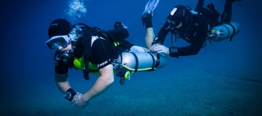 Sidemount-Events der Euro-Divers Egypt