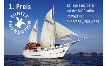 Gewinnen und Helfen –  11. Turtle Tombola auf der FESPO in Zürich