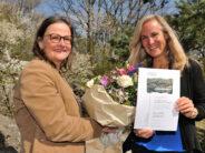 """Biologin Angela Ziltener erhält 1. Preis beim """"Trophée de femmes 2021"""""""